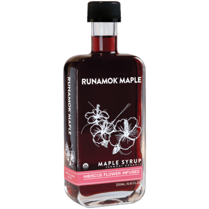 Hibiscus Flower Infused Maple Syrup by Runamok Maple