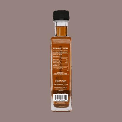 Custom maple syrup gift box by Runamok Maple