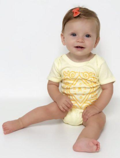 Custard Cream Baby Grow Costume