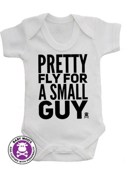 Funky Boys Baby Grow - Monochrome Trendy Baby Boys Vest