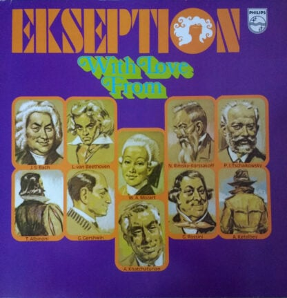 Ekseption - With Love From (2xLP, Comp, Gat)