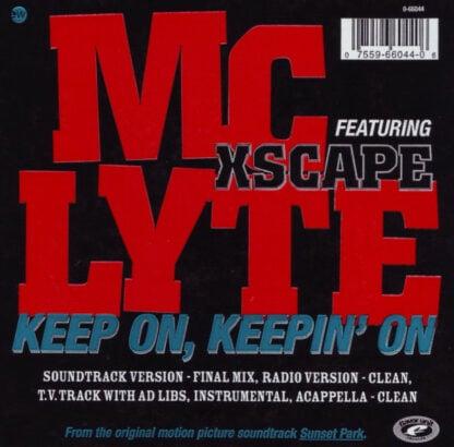 MC Lyte - Keep On, Keepin' On (12