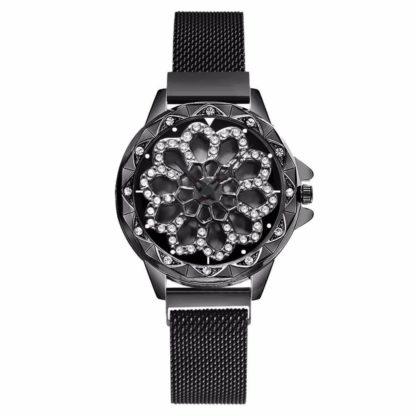 Zegarek damski Luksusowy z OBROTOWĄ TARCZĄ SKY ROTATION