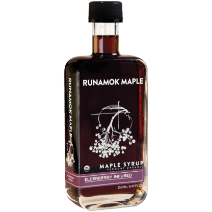 Elderberry Infused Maple Syrup by Runamok Maple