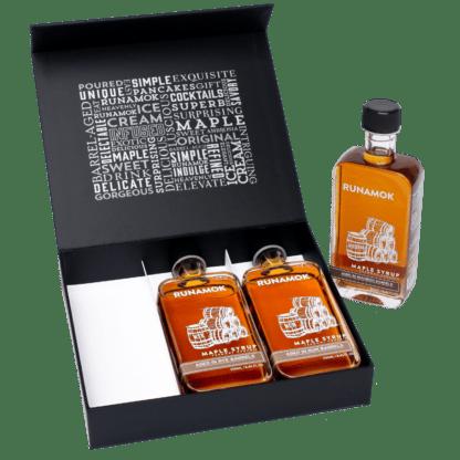Barrel-Aged Gift Box Set by Runamok Maple