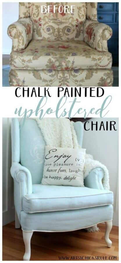 Chalk-Painted-Upholstered-Chair-Makeover-Before-and-After-EASY-artsychicksrule-paintedupholstery-chalkpaint-diy-416x900
