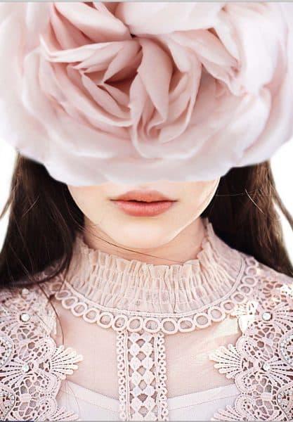 fashion poster blush roze
