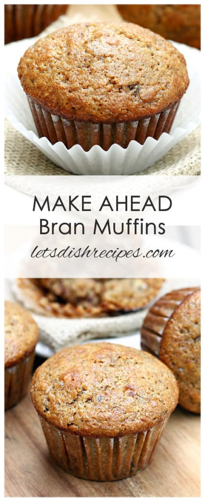Make Ahead Bran Muffins