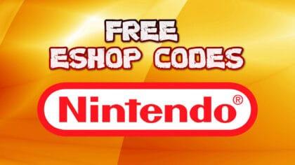 free nintendo switch codes