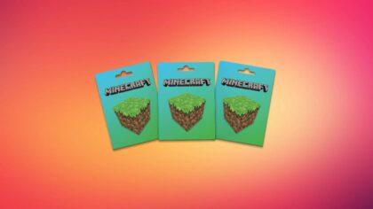 Free Minecraft gift card 2021