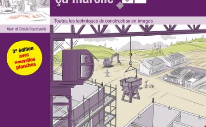 """le livre la construction comment ça marche , éditions """"Le moniteur"""""""