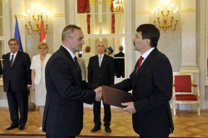 Logisztikusé lett a Magyar Érdemrend Tisztikereszt