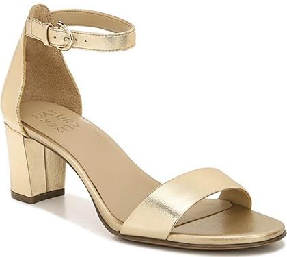 Naturalizer True Colors Vera Ankle Strap Sandal   40plusstyle.com