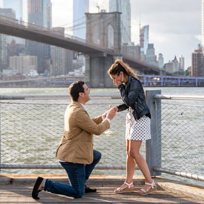 How to propose at Brooklyn Bridge park?
