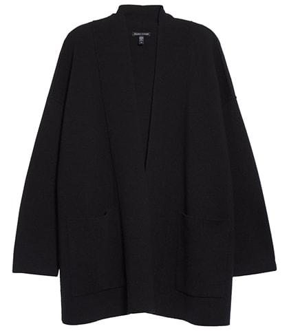 Eileen Fisher silk & cashmere cardigan | 40plusstyle.com