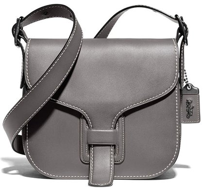COACH Courier Leather Convertible Bag | 40plusstyle.com