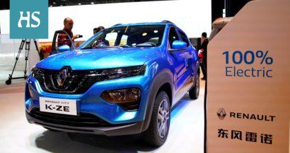 A Renault nem értékesít Kínában belsőégésű személygépkocsit