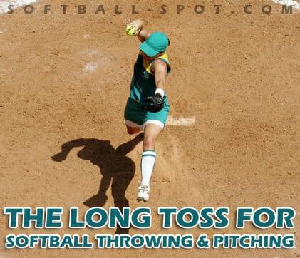 long toss for softball throwing pitching