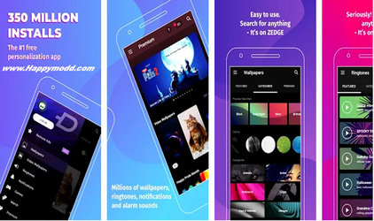 ZEDGE Wallpapers & Ringtones Mod Apk
