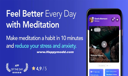Meditopia Anxiety Breathing Mod Apk