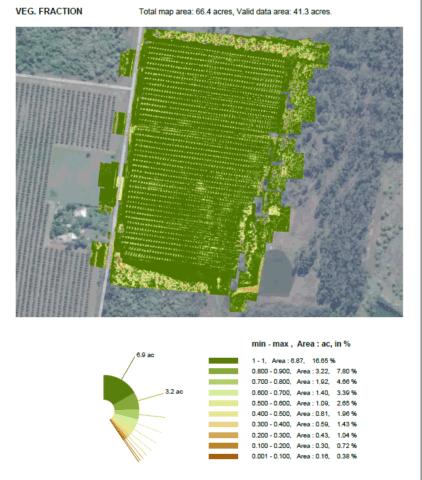 Vegetation Fraction Analysis