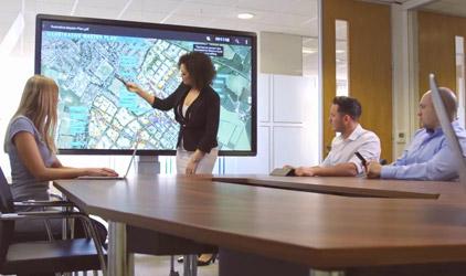 presentation sans fil share