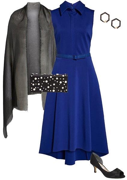 high low shirt dress | 40plusstyle.com