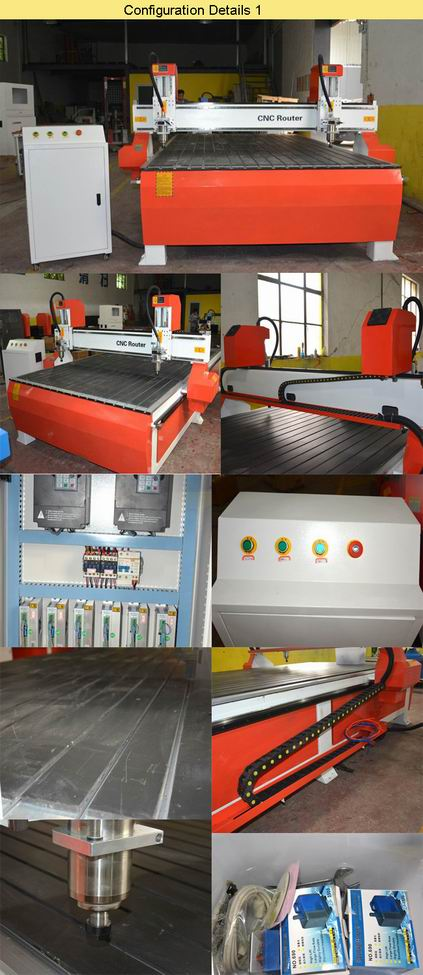 Factory Manufacture Direct Cheap Price CNC Router Machine for guitar making configuration