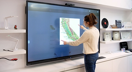 ecran interactif 86 pouces