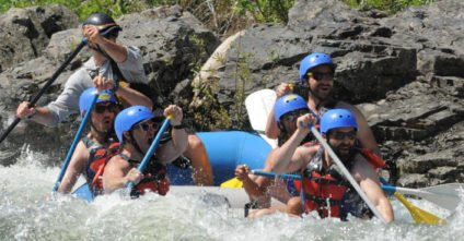 Lacrosse Goalie In Real Life: That Time I Went White Water Rafting