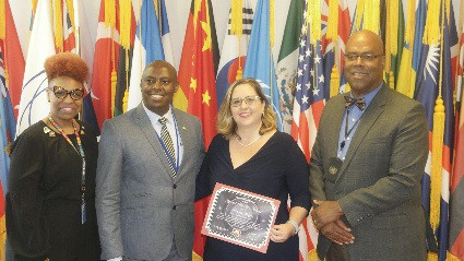 Jamaican Rebecca Harper Appointed Ambassador of World Civility