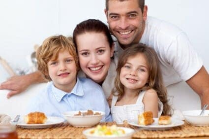 Colazione in famiglia