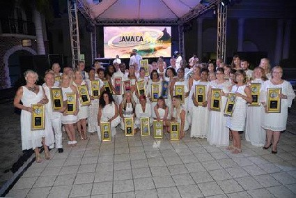 Jamaica Tourist Board Celebrates Top Travel Agents At Annual White Affair Gala In Montego Bay