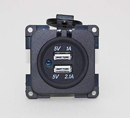 CBE Electrical Modular 12v Double USB Socket