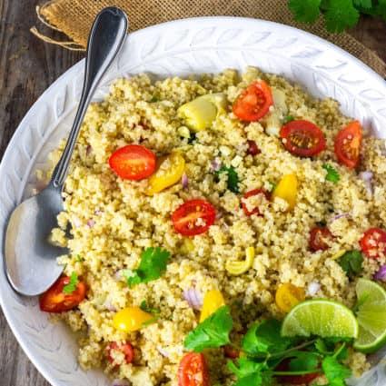 Quinoa Salad With Artichokes