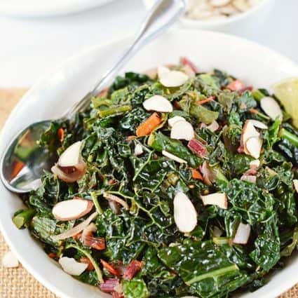 Sauteed Kale Garlic and Onions