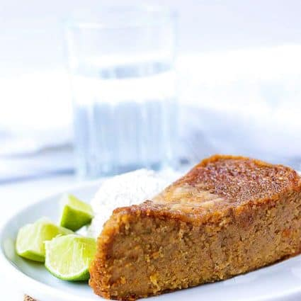 Vegan Jamaican Sweet Potato Pudding