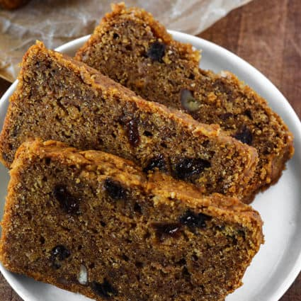 Vegan Persimmon Bread Recipe