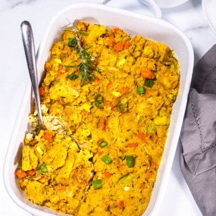 Vegan Cornbread Stuffing Recipe