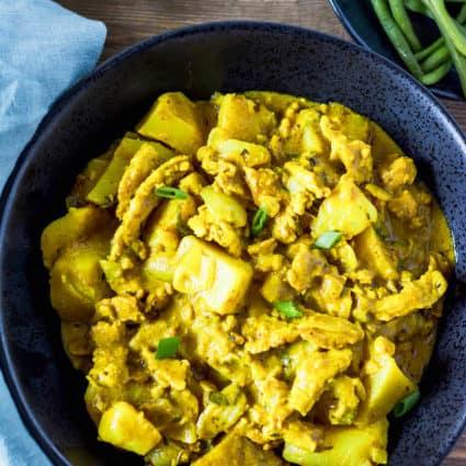 Vegan Curry Chicken Recipe