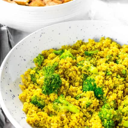 Curry Quinoa Broccoli Recipe