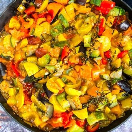 Easy Vegan Ratatouille Recipe