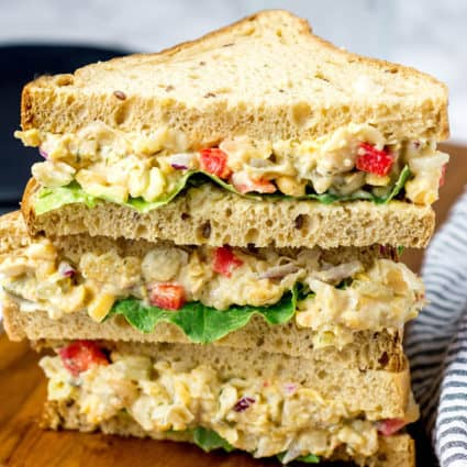 Vegan Chickpea Salad