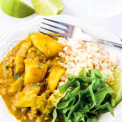 Bitter Melon Potato Curry