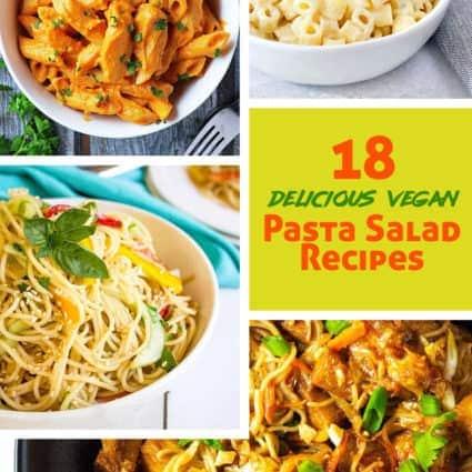18 Vegan Pasta Salad Recipes