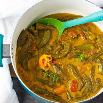 Okra Curry Recipe