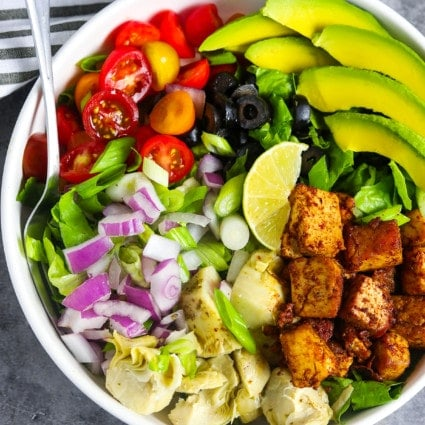 Cajun Tofu Salad Recipe