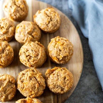 Gluten-Free Vegan Butternut Squash Muffins