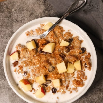 Vegan Crockpot Oatmeal