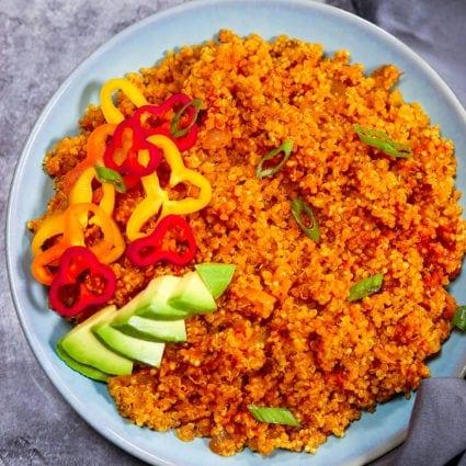 Jollof Quinoa